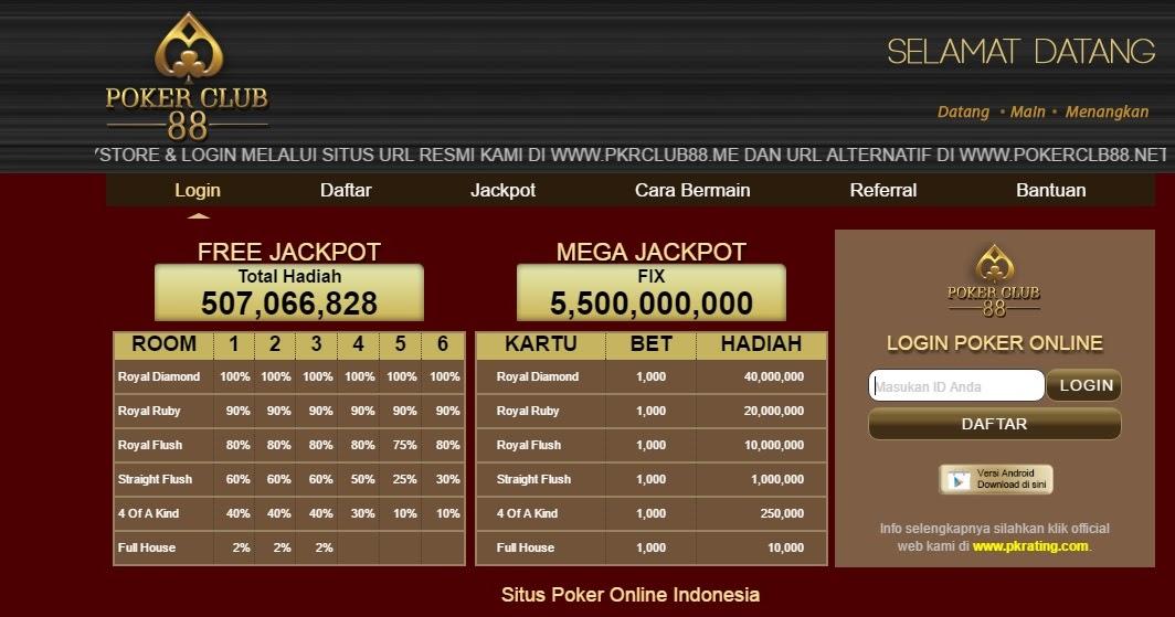 Withdraw Cepat Cair Hanya Ada Di Situs Pokerclub88